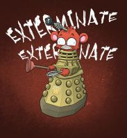 Dalek Tanked by Sanaril