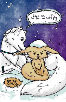 The Trouble with Arctic Wolves by Diglette