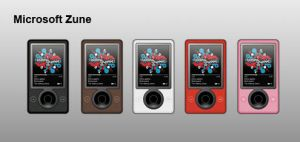 Microsoft Zune by redawgts
