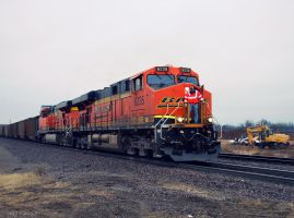 BNSF 6235 by SMT-Images