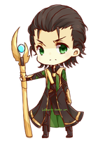 Loki chibi by lordhamstr