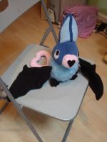 Swoobat Plush by ShidatheUmbreon