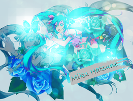 Miku Hatsune by Hanitachawn