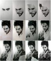 Jared Leto process by MaryMaryLP
