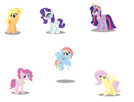 .:MLP Future - Mane Six:. by NikkiKittyx