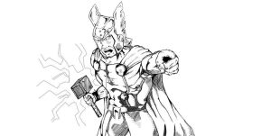 Thor by 2numb2relate