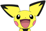 Happy Pichu by kol98