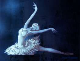 Dying Swan by Lisannexx