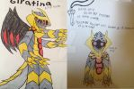 giratina king form by DemonKnightRoni