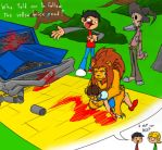 Lions, tigers and... WTF? by Ishityounot