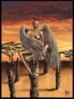 African angel by rita-unknown