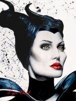 Maleficent by ArtGoldArt