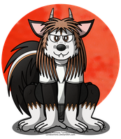 Dominic Mephitto, Skunkdog Form by LordDominic