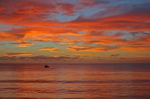 Sunset of Tobago by LisaG1794
