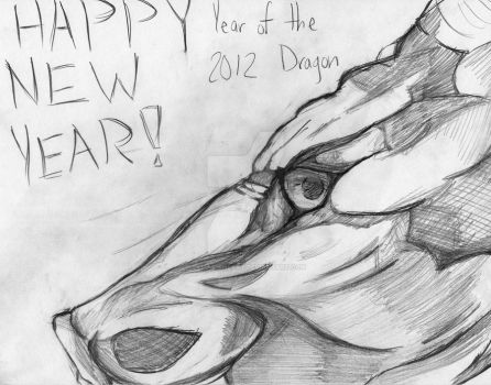 2012 Year of the Dragon by tamashiheart