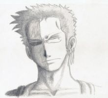 Zoro sketch by wallabby