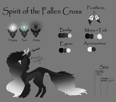 Spirit of the Fallen Cross  Reference Sheet  by 1MidnightRiver1