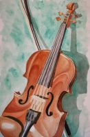 Violin by phoenixfyre6967