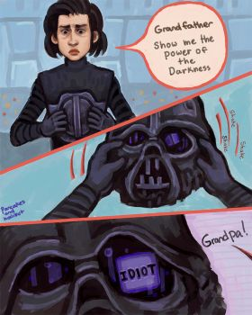 Kylo Ren is an Idiot - Comic by pancakesandhalibut