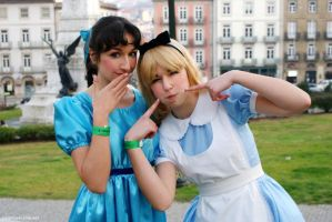 Wendy and Alice by xMysticDreamer