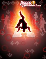 DDR Poster Red by JetFangInferno