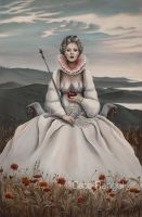The Empress - Tarot Painting by caterangel