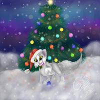 Merry Christmas!!! :'D by Gabyss-A