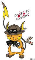 NCR Raichu Pokesona by SacredLugia