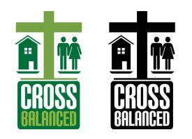 Cross Balanced Logo by justicefrog