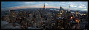 NYC Panorama by TigeJet
