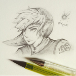 Link Sketch  by TheLittleArtyThing