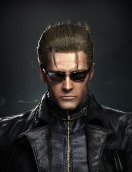Wesker by DemonLeon3D