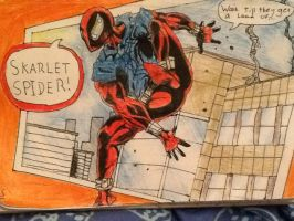The scarlet spider by DrBookworm