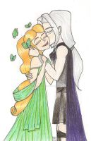 Persephone and Hades by GoblinQueenSelene