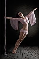 Pole Art - Ballet Pose by h-e-photography