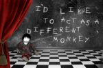 To act as a different monkey. by EndlessDownstairs