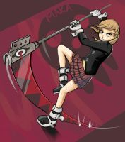 Soul Eater: Maka by Chicken--Scratch