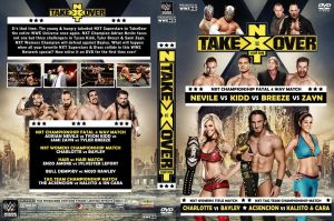 WWE NXT TakeOver 2 DVD Cover by Chirantha