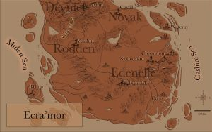 Ecra'mor Map by paigemichael