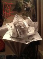 Happy Mother's Day Music Paper Rose by semie