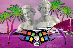 Vaporwave crap by KamratEric