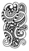 Zentangle 1 by e-designer