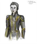 Flynn in gold by Willowwolf23