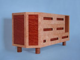 decorative veneer cabinet by sharp-chisel