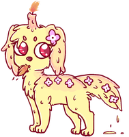 Candle Canine Adopt :Sweet Blossom Auction CLOSED by SquidPup