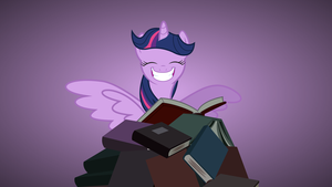 Twilight Smile Background by SpenceTheNewbie