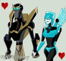 Request- Prowl And Cyber by Clindra