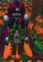 +Amidst The Pumpkin Patch+ by MaliciousMisery