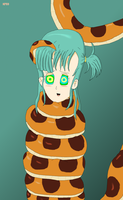 Bulma Squeezed by kaafan33