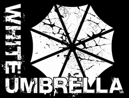 White Umbrella Grunge by Disease-of-Machinery
